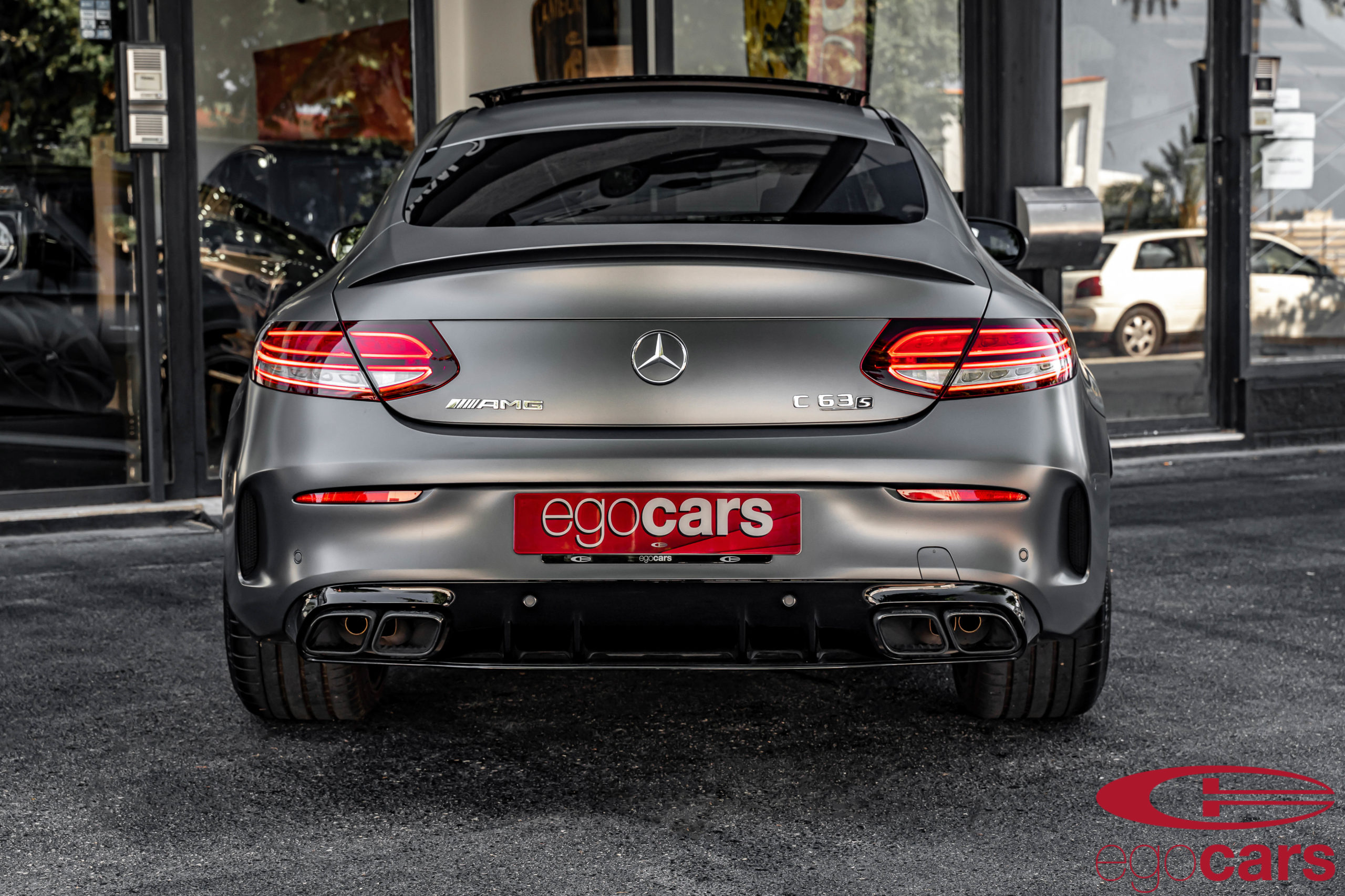 MERCEDES C63S COUPE AMG GRIS MATE EGOCARS_11