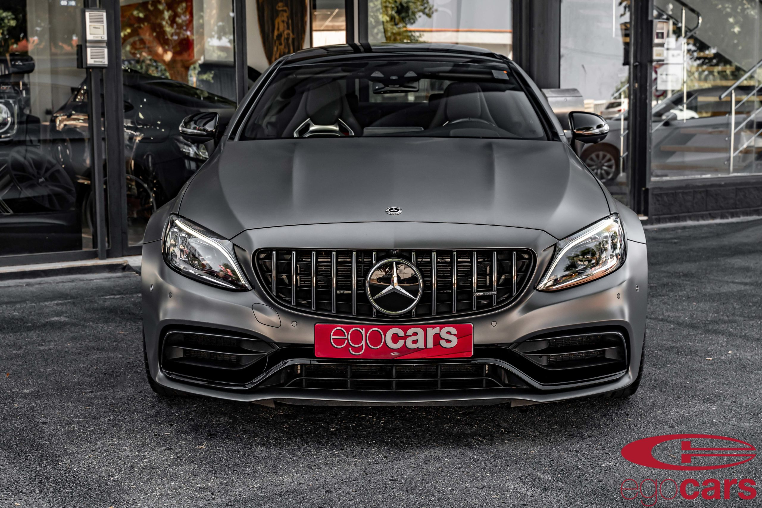 MERCEDES C63S COUPE AMG GRIS MATE EGOCARS_3