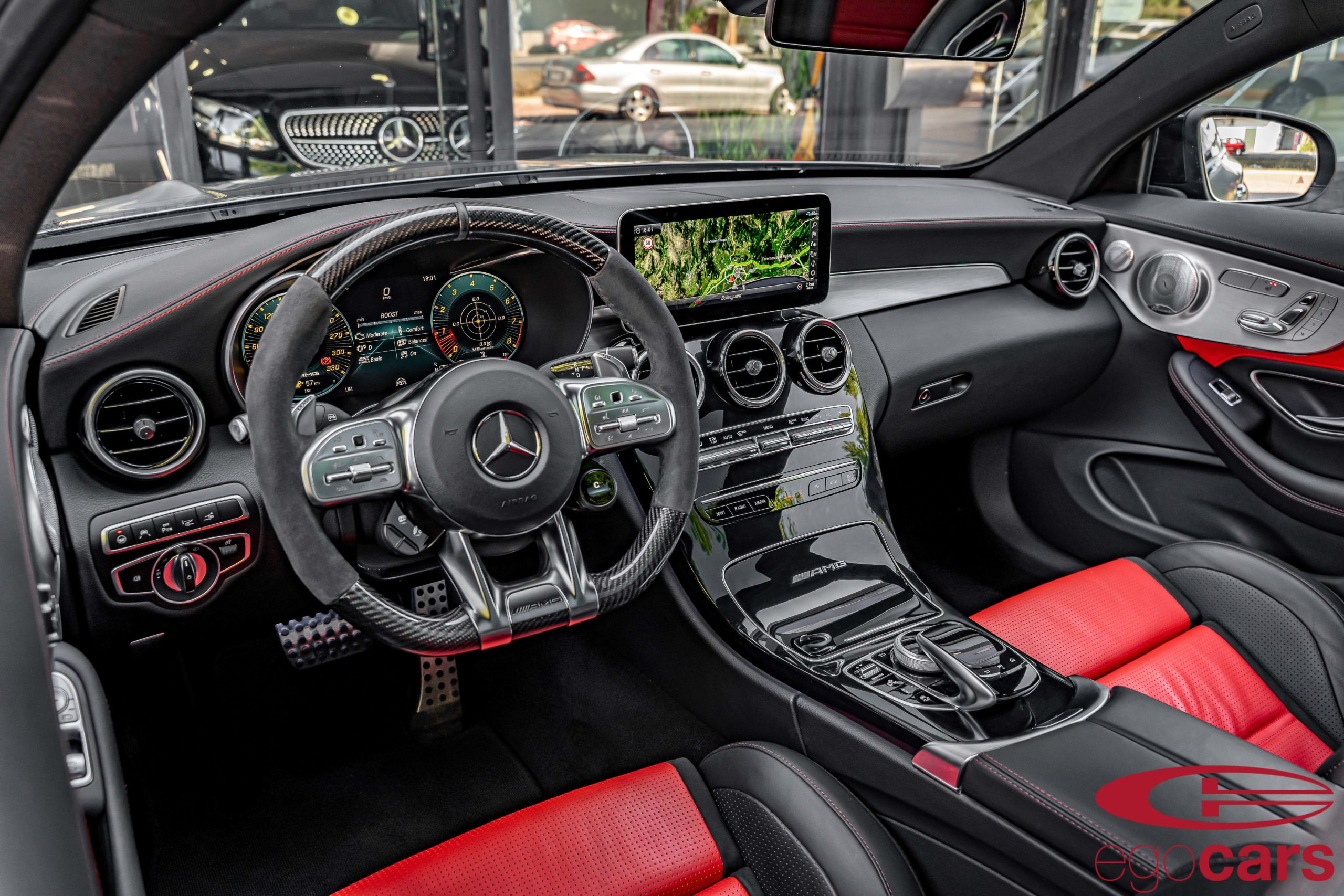 MERCEDES C63S COUPE AMG GRIS MATE EGOCARS_30